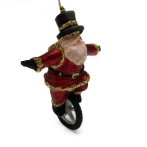 Eventyrfigur, julemand på cykel