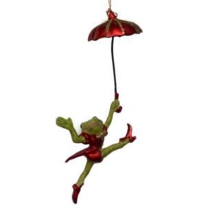Eventyrfigur, frø med paraply