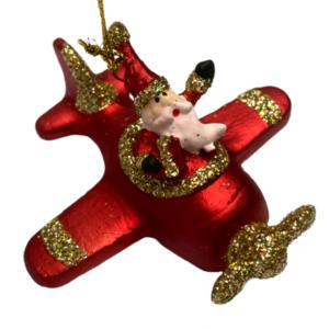 Eventyrfigur, julemand i flyver