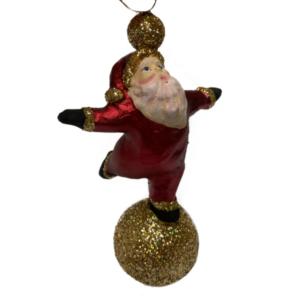 Eventyrfigur, julemand i balance