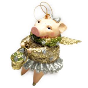 Eventyrfigur, gris med vinger