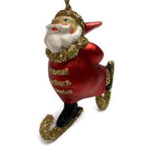 Eventyrfigur, julemand på skøjter