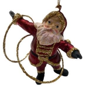 Eventyrfigur, julemand med hulahop-ringe