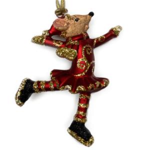 Eventyrfigur, mus på skøjter