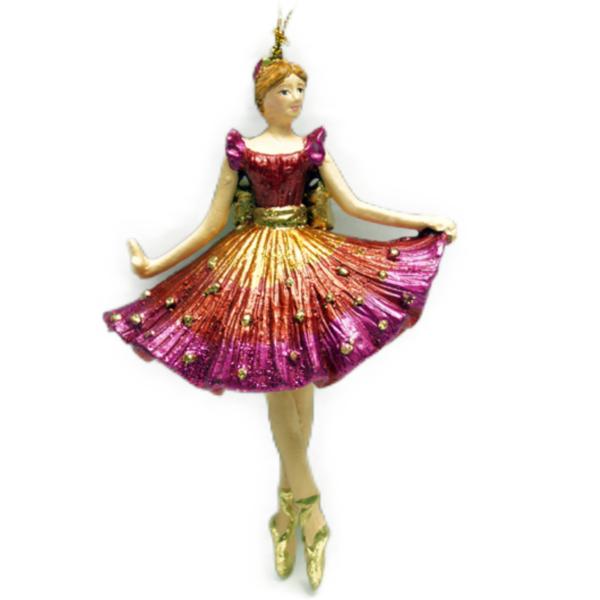 Eventyrfigur, ballerina pink