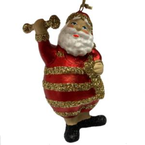 Eventyrfigur, julemand vægtløfter
