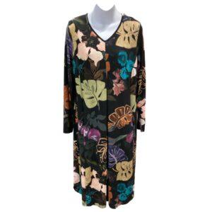 QNeel kjole i efterårsfarver