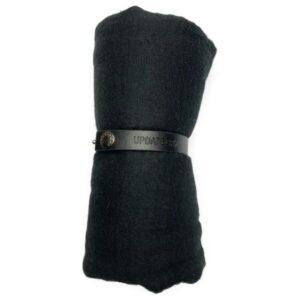 Viskose tørklæde, sort
