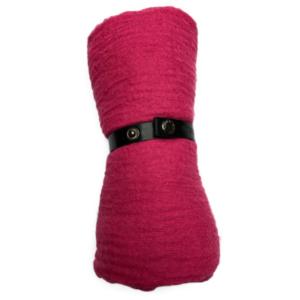 Viskose tørklæde i pink