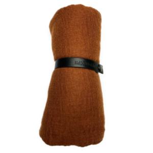 Viskose tørklæde, karamel
