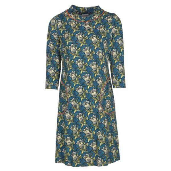 charles Sissel kjole med blomster 1060-5