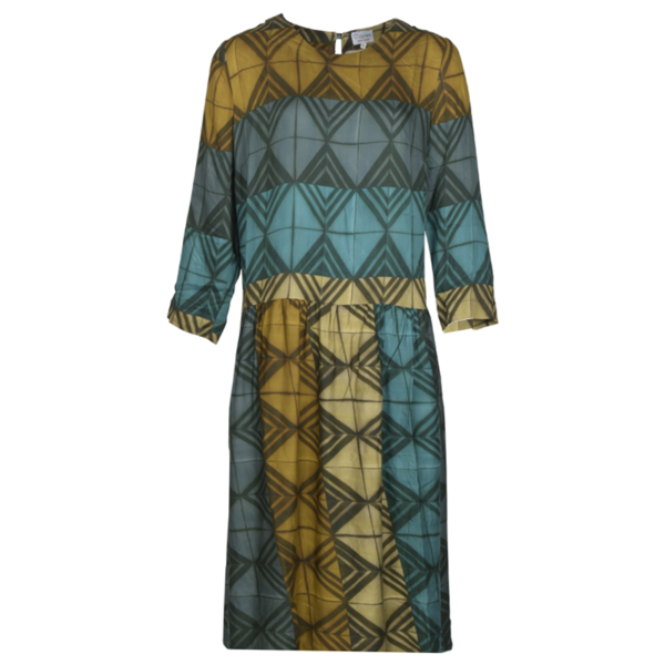 Charles Maria kjole med grafisk print