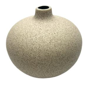 Lindform vase - Bari medium - Lys sand