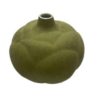 Lindform vase - lille grøn blomst