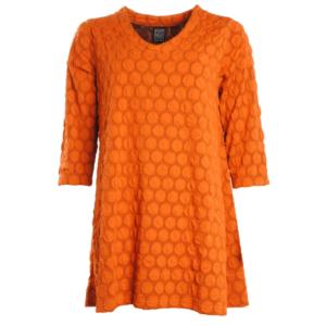 Pont Neuf. orange bluse