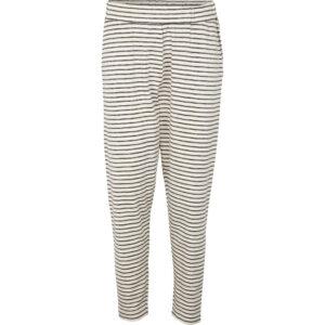 Saga bukser fra Basic Apperal i hvid og sort