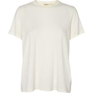 Jolanda off-white T-shirt fra Basic Apperal