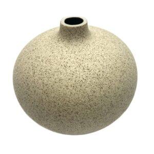 Lindform vase - lille Bari - lys sand
