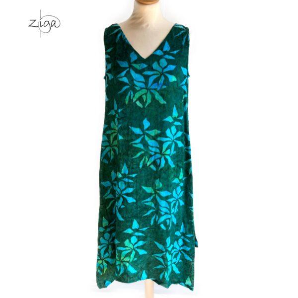 Campur Valerie kjole uden ærmer grøn W.319