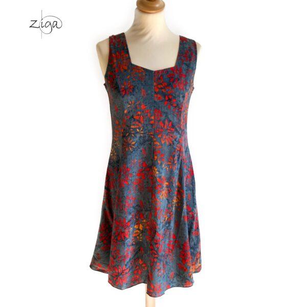 Campur mini dress uden ærmer grå W.112