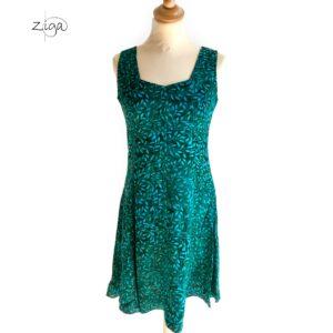 Campur mini dress uden ærmer grøn W.345