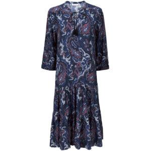 Masai Nari blå kjole med mønster