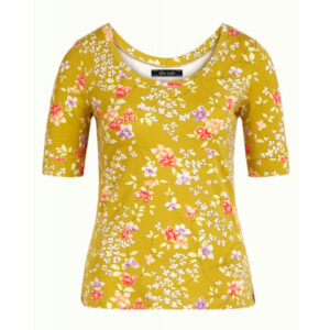 King Louie Ballerina top Mariposa med blomsterprint