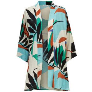 Masai Josslyn jakke med 3/4 lange ærmer med palmeprint Alhambra