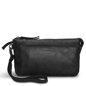 Pia Ries sort clutch taske med håndledsrem 060-1