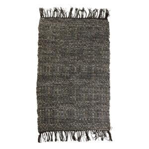 Speedtsberg håndlavet lædertæppe 60 x 90 cm grå