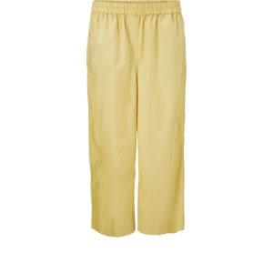 Masai Pari bukser cocoon. Gule bukser med elastik i taljen.