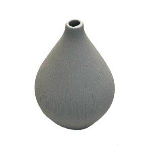 Lindform - vase lys grå