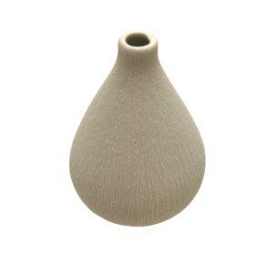Lindform vase - Kobe hvid