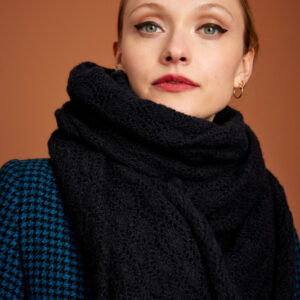 Ophelia scarf - Black