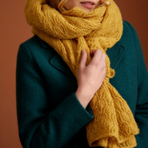 Scarf ophelia - Yellow