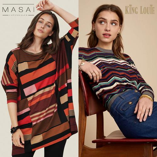 Efterårskollektion 2021 hos Ziga. Skøne mode til kvinder fra Masai og King Louie.