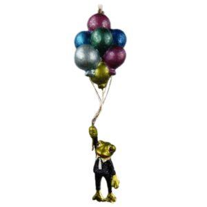 Ophæng frø med balloner