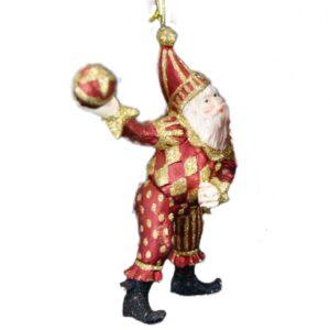 Nar med bold, julefigur