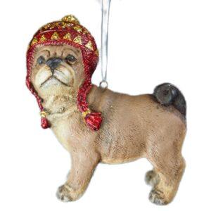 Juleophæng, hund