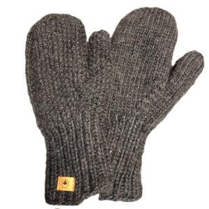Fuza Wool uld Jap luffer coal koks grå