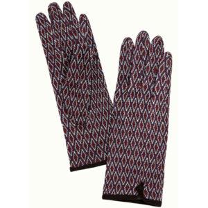 King Louie strikkede handsker Dickens Windsor Red