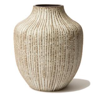 Lindform Kyoto keramik vase stonestribe højde 21 cm