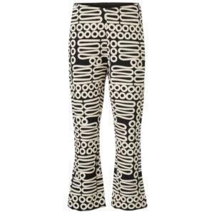 Masai Paba sorte bukser med hvidt mønster