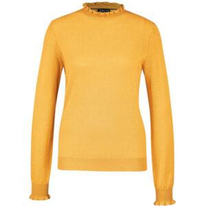 Zilch langærmet guld sweater Fancy gold