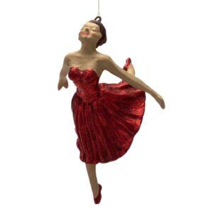 Ophæng, ballerina i rødt