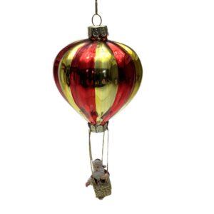 Julemand i ballon