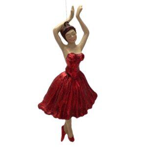 Ballerina i rødt, figur