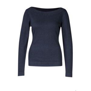 Sweater boatneck - Navy - Zilch