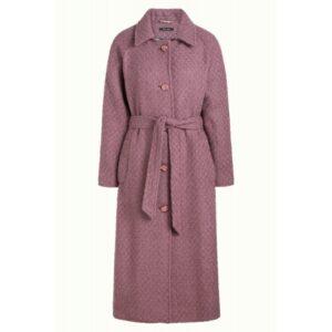 Rachel coat - Mauve pink - King Louie